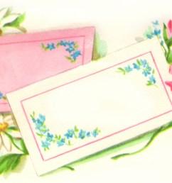 free vintage flower clip art [ 2152 x 1229 Pixel ]