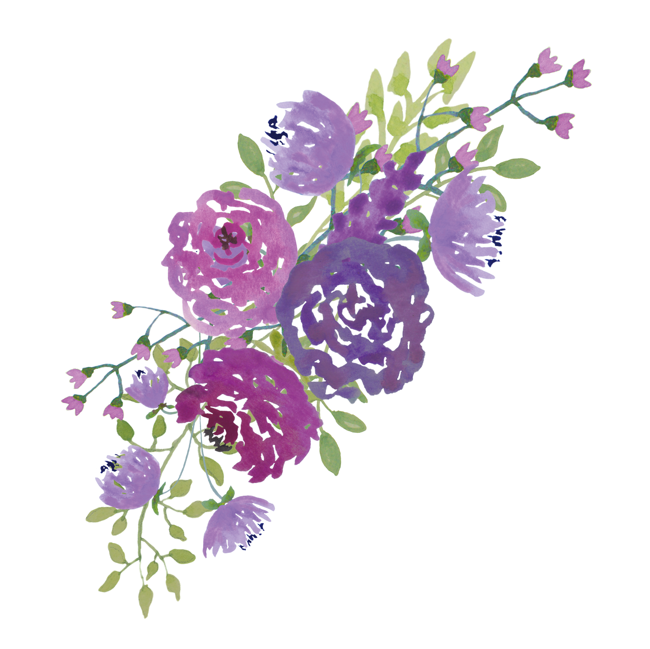 FEATURED DESIGNER Lollys Lane Free Mixed Floral Sprays