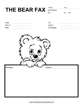 Free Fax Cover Sheets
