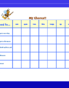 also free printable chore charts for kids rh freeprintablebehaviorcharts