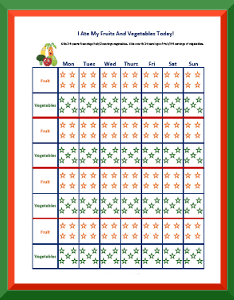 Behavior chart for healthy eating also charts to track free printable rh freeprintablebehaviorcharts