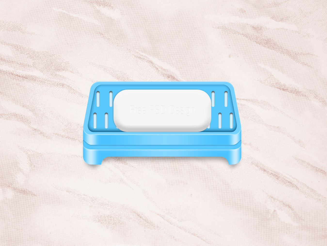 Soap Tray PSD Mockup icon free download