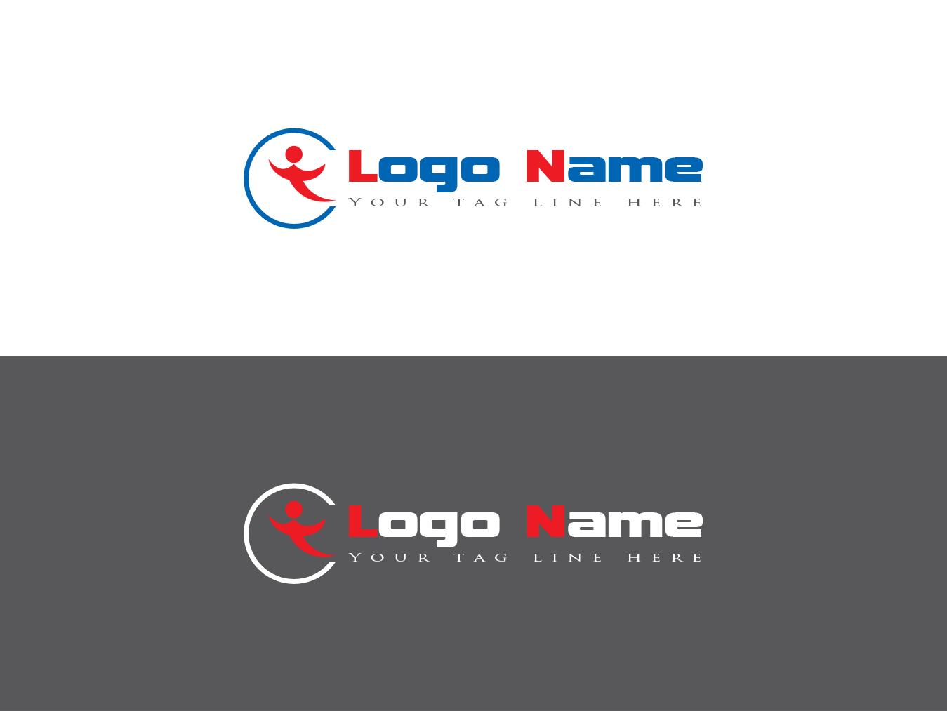Sports logo free psd design downlaod