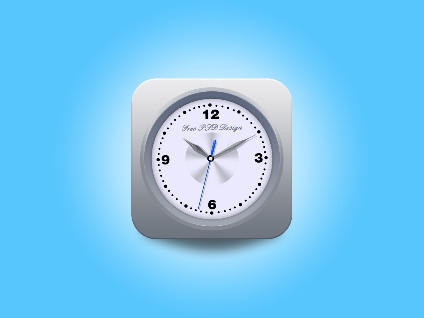 Watch psd mockup icon
