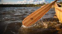 wooden canoes - wooden paddles - canoe building workshops