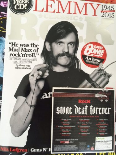 Our Summer is Dead by Free Recovery - Track 6 - Stone Deaf Forever produced by Classic Rock Magazine.