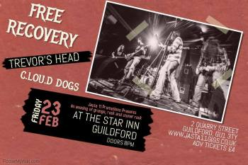 Free Recovery Live at the Star Inn, Guildford