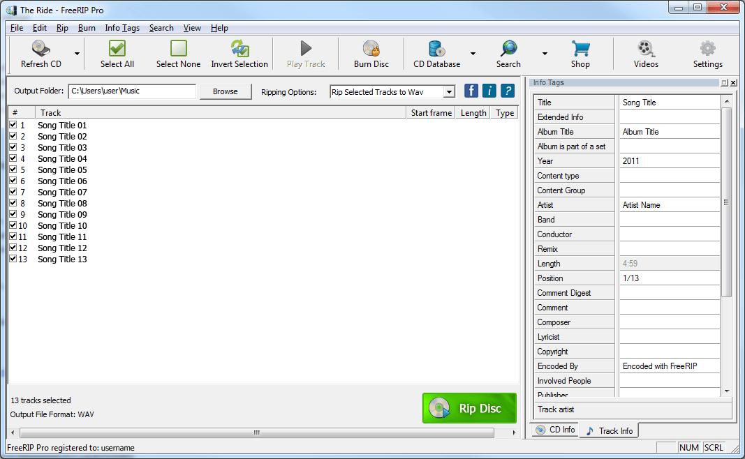 cd rip-burner-converter-mp3 tagger-yazdirma-dönüstürme-etiket-düzenleme
