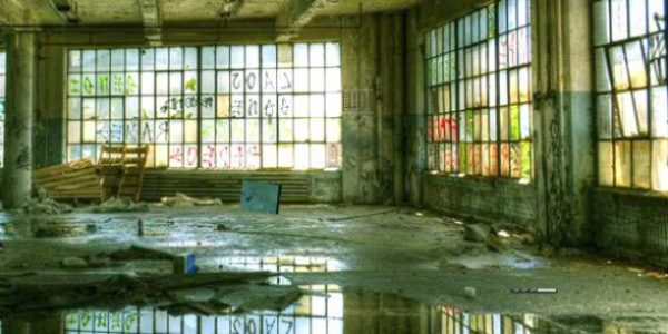 Abandoned Budd Manufacturing Plant Escape