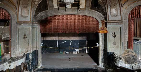 Abandoned Movie Theater Escape