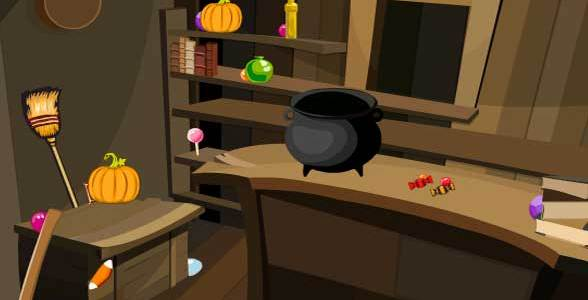 Toll Halloween Candy Room Escape 2