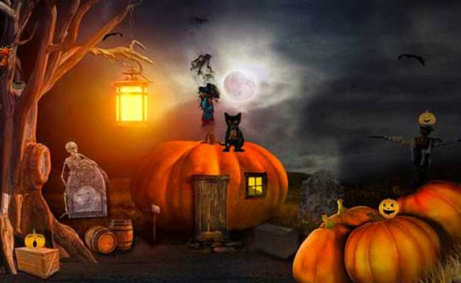 Escape Game Halloween Cemetery Escape 2 Free Room