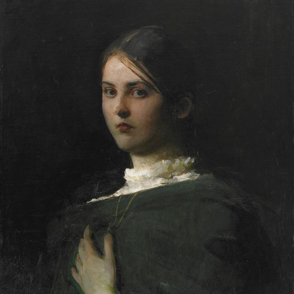 Portrait of the Artist's Eldest Daughter