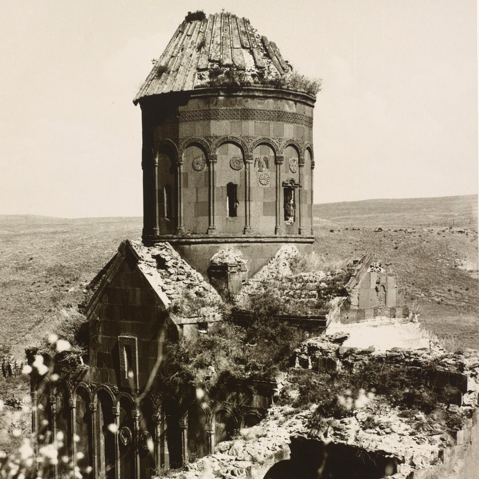 The Church of St. Gregory of Tigran Honents, Ani; Ara Güler, 1965; Freer Gallery of Art and Arthur M. Sackler Archives
