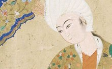 detail from Islamic painting