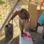 Kak Aziz preparing tea