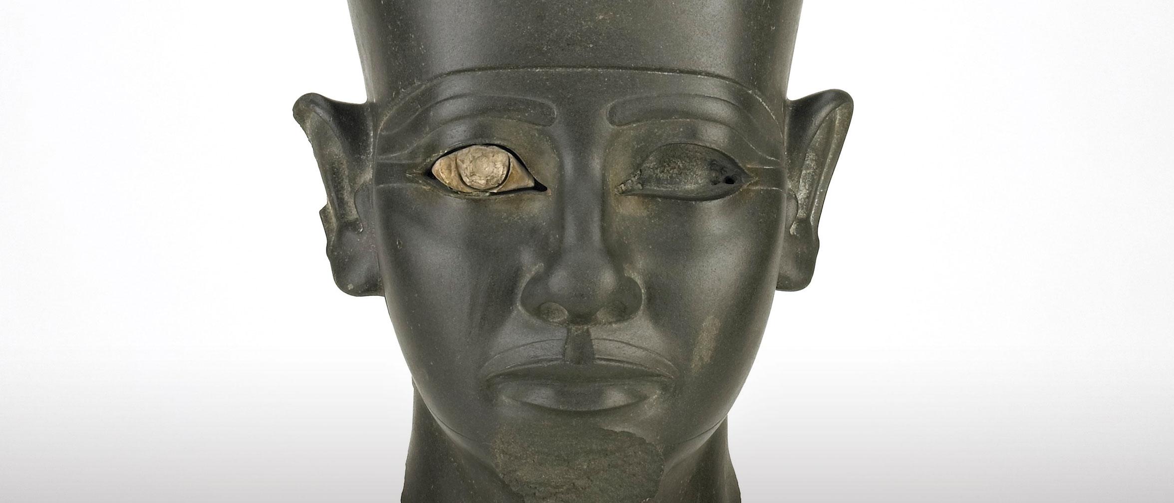 Head of a pharaoh, F1938.11