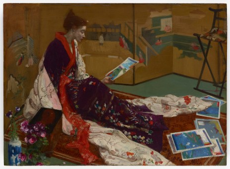 'The Golden Screen' by James McNeill Whistler