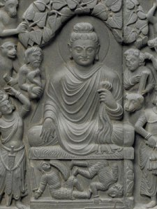 F1949.9a-d, Scenes from the life of the Buddha