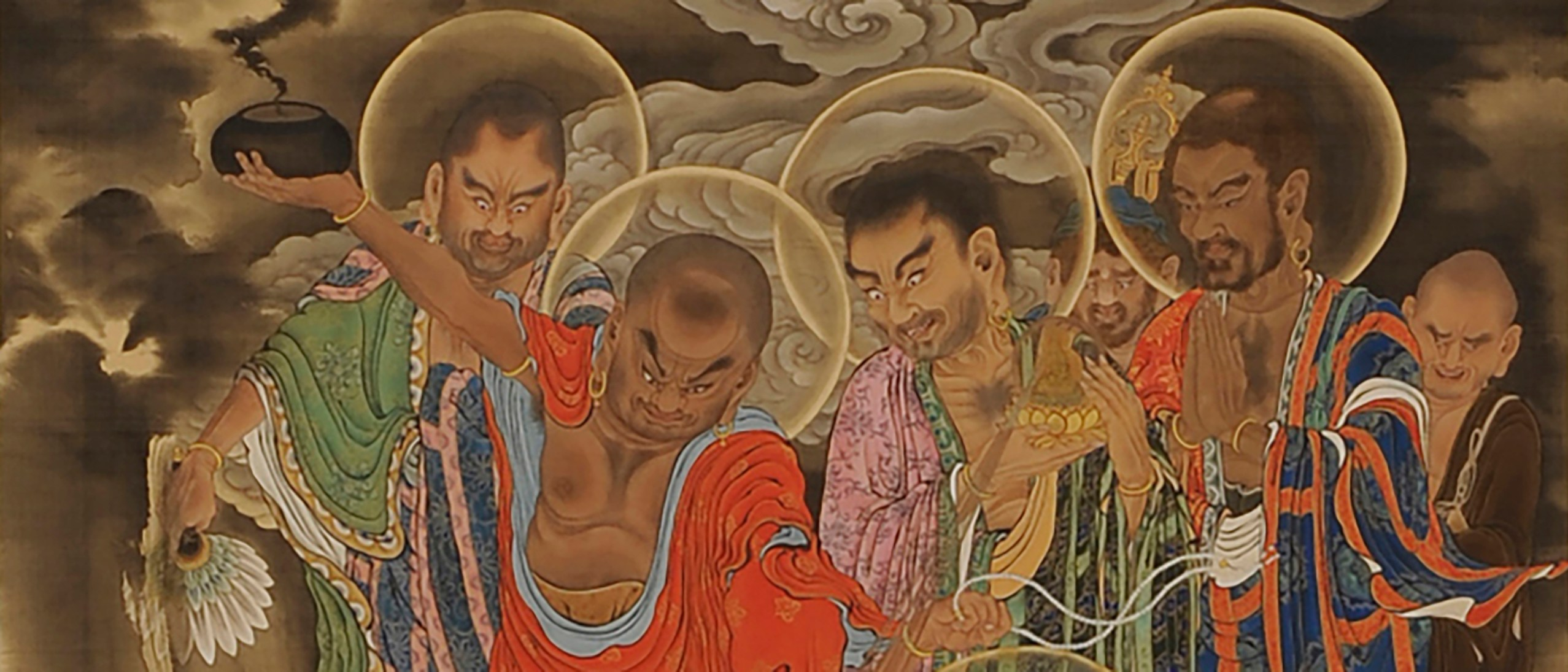 Masters of Mercy: Buddha's Amazing Disciples | Freer|Sackler