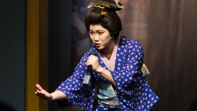 a performer from Utamaro: the musical