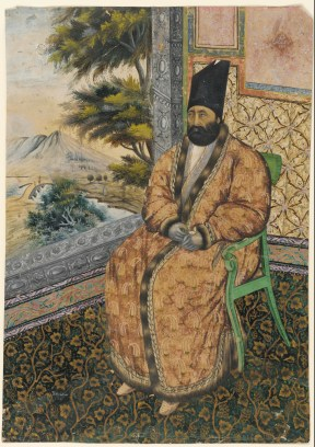 Portrait of Mirza Muhammad Khan Qajar
