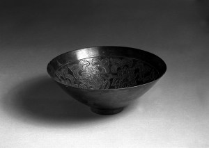 Photo, Silver bowl. Song dynasty, 960–1279., Diam: 17.4 cm. (6 13/16 in.) Singer catalogue number: [1595].