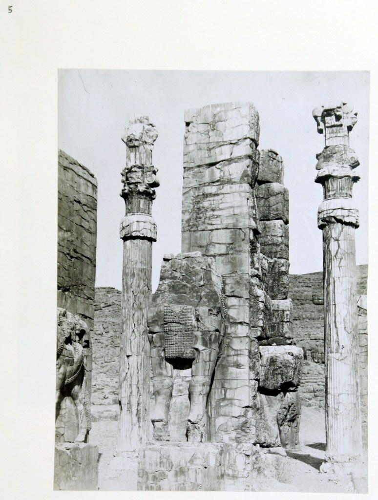 Photo, Sevruguin, Antoin,; b&w ; 15.3 cm. x 20.7 cm.; The Ernst Herzfeld papers. Freer Gallery of Art and Arthur M. Sackler Gallery Archives. Smithsonian Institution, Washington, D.C.