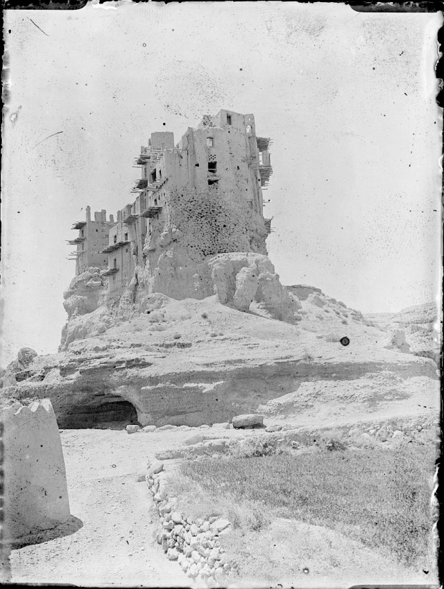 Sevruguin, Antoin,; b&w ; 9 cm. x 11.9 cm.; Myron Bement Smith Collection: Antoin Sevruguin Photographs. Freer Gallery of Art and Arthur M. Sackler Gallery Archives. Smithsonian Institution, Washington D.C. Gift of Katherine Dennis Smith, 1973-1985