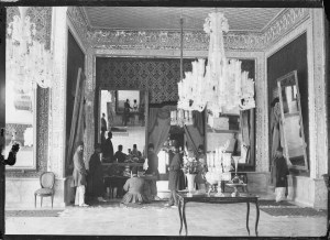 Sevruguin, Antoin,; b&w ; 17.7 cm. x 13 cm.; Myron Bement Smith Collection: Antoin Sevruguin Photographs. Freer Gallery of Art and Arthur M. Sackler Gallery Archives. Smithsonian Institution, Washington D.C. Gift of Katherine Dennis Smith, 1973-1985