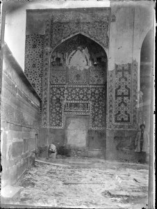 Sevruguin, Antoin,; b&w ; 17.9 cm. x 23.8 cm.; Myron Bement Smith Collection: Antoin Sevruguin Photographs. Freer Gallery of Art and Arthur M. Sackler Gallery Archives. Smithsonian Institution, Washington D.C. Gift of Katherine Dennis Smith, 1973-1985