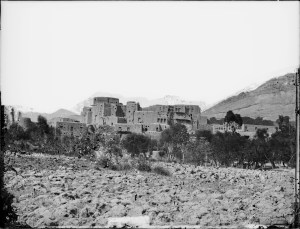 Sevruguin, Antoin,; b&w ; 24.2 cm. x 17.8 cm.; Myron Bement Smith Collection: Antoin Sevruguin Photographs. Freer Gallery of Art and Arthur M. Sackler Gallery Archives. Smithsonian Institution, Washington D.C. Gift of Katherine Dennis Smith, 1973-1985