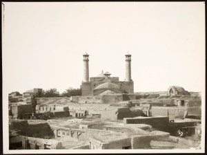 Rear View of Friday Mosque (Masjid-i Jami'-i Qazvin)