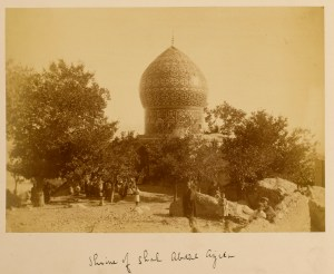 Sevruguin, Antoin,; b&w ; 22.7 cm. x 16 cm.; Stephen Arpee Collection of Sevruguin Photographs. Freer Gallery of Art and Arthur M. Sackler Gallery Archives. Smithsonian Institution, Washington D.C., 2011.