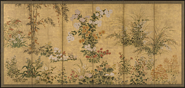 Flowers and Grasses of the Four Seasons