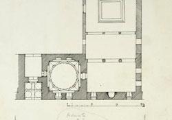 sketch of a floor plan
