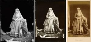 Detail photos of Antoin Sevruguin, Armenian woman