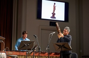 Silkroad musicians perform the world premiere of A Silkroad Gallery: Musical Postcards from the Freer|Sackler on May 18, 2018