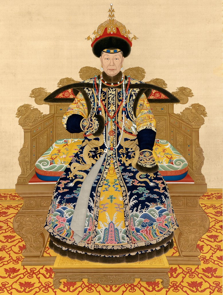 painting of the empress
