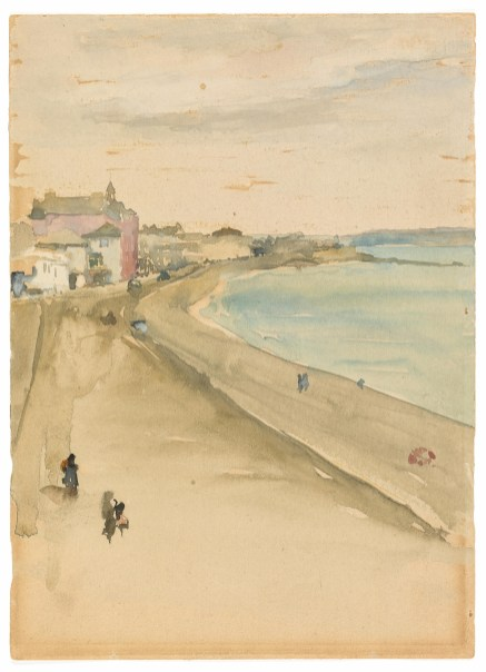 St. Ives: Cornwall 1883–84 Watercolor on hot-pressed, wove paper F1905.117