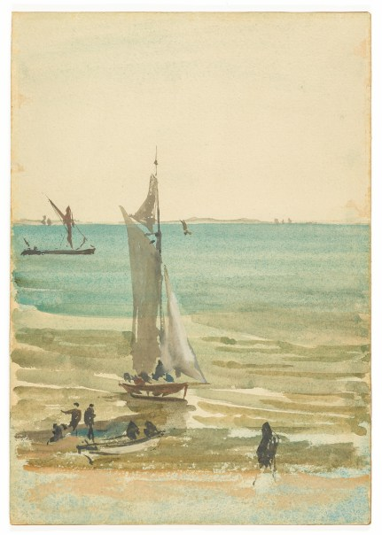watercolor of a sailboat