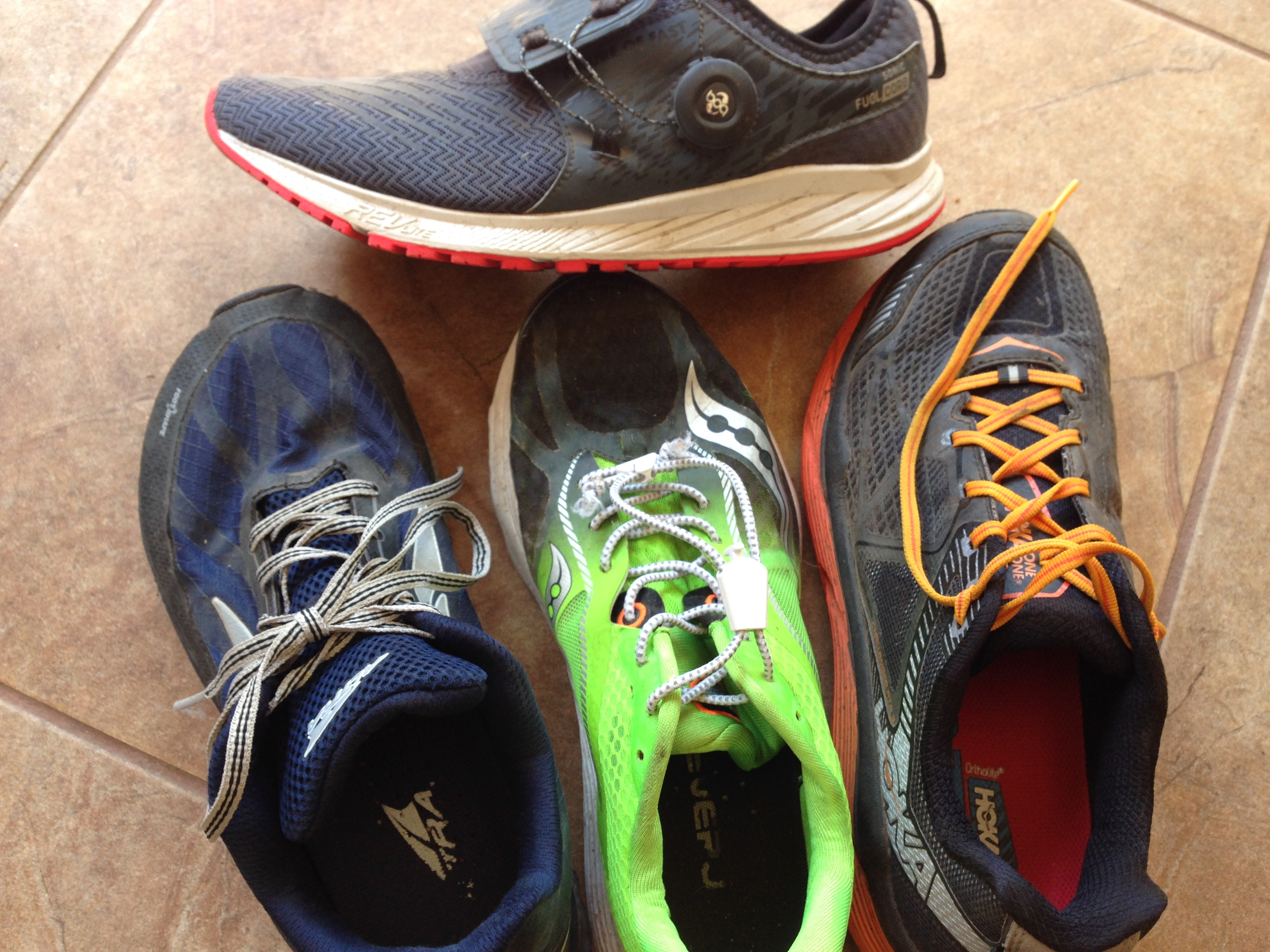 Running Shoe Rotation