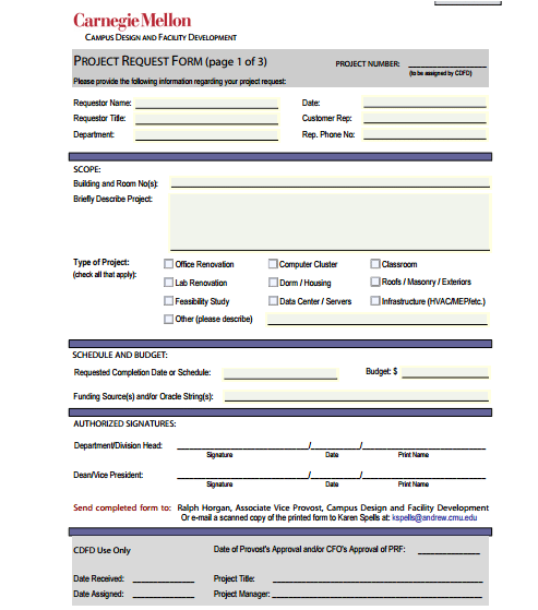 form template for word