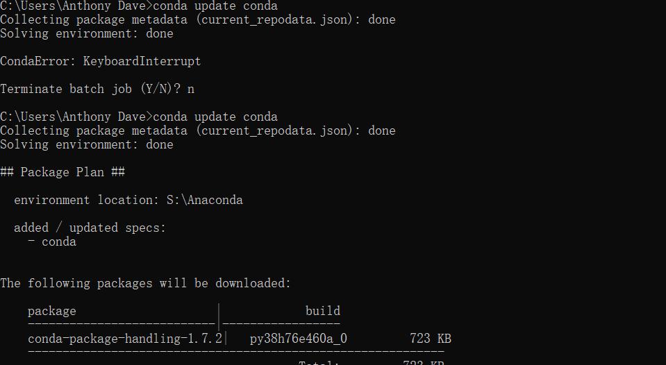 conda install一直在solving environment - 灰信網(軟件開發博客聚合)