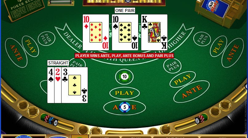 Play 3 card poker for free photographe geant casino istres