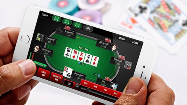 Can I play online poker on my phone or tablet