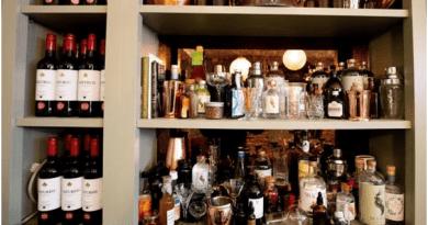 Drinks at Virgin Mary Bar