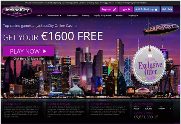 Jackpot City Casino Euros