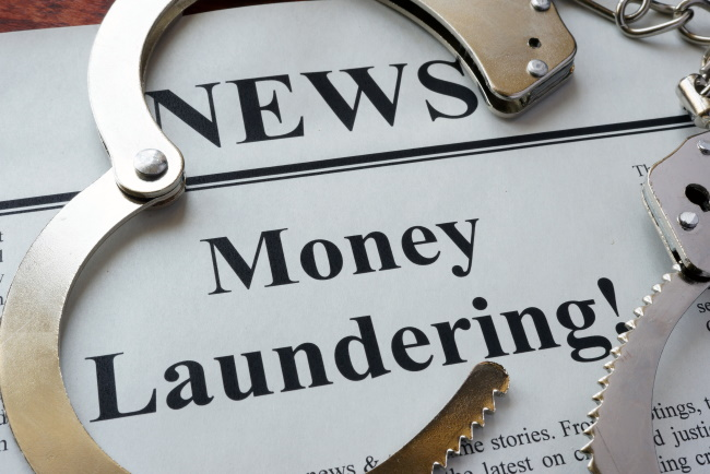 Money laundering issues are apparent