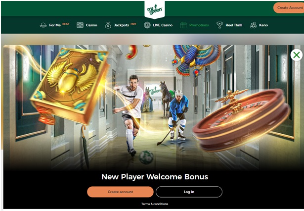 Mr green Irish Online Casino Has the Best No Deposit Bonus